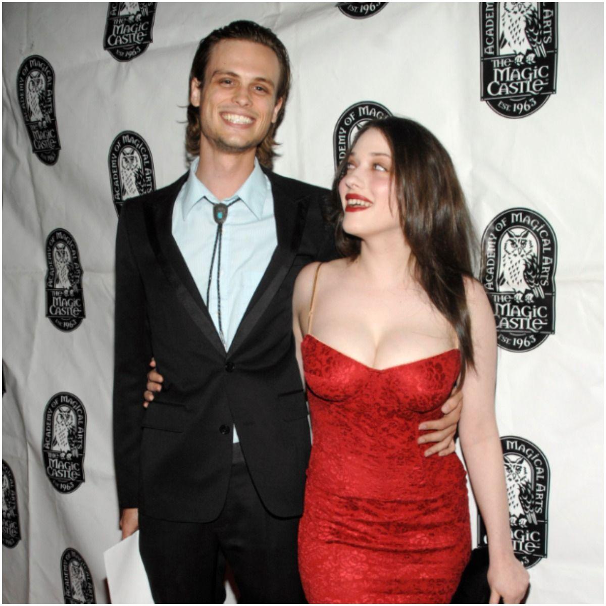 Matthew Gray Gubler and his girlfriend Kat Dennings