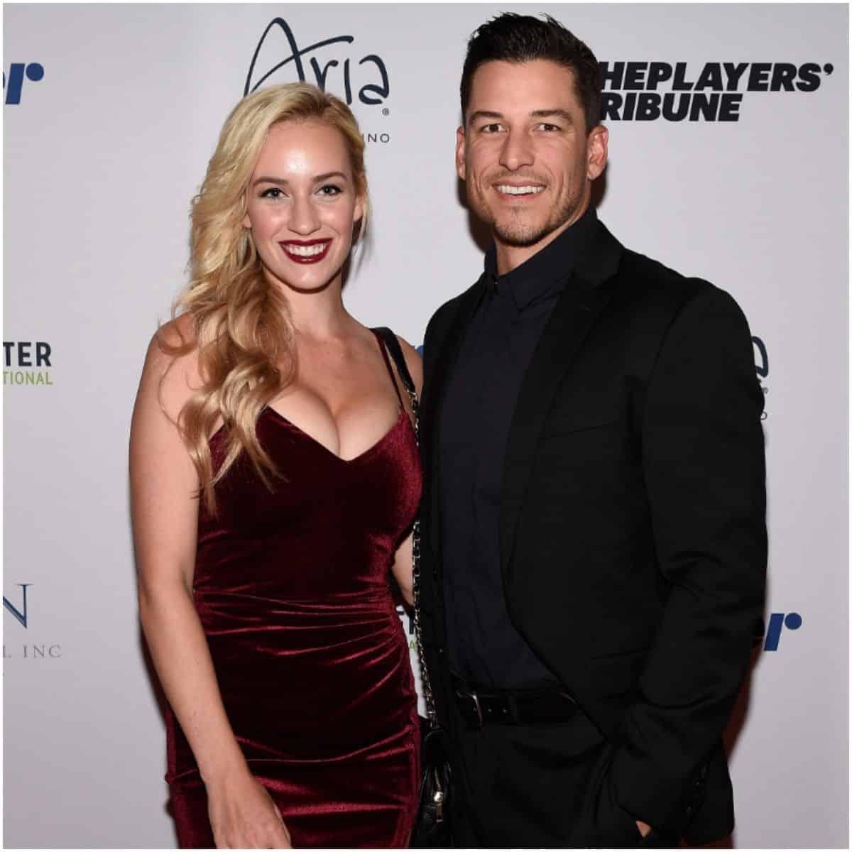 Paige Spiranac and husband Steven Tinoco