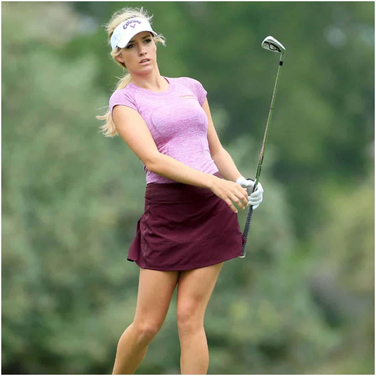 Paige Spiranac golf