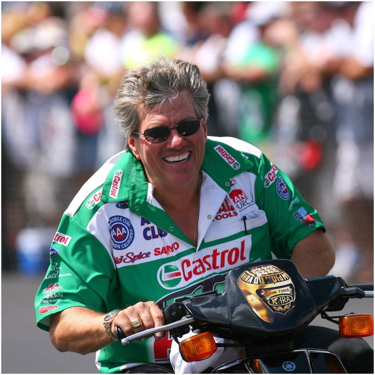 what is the net worth of John Force