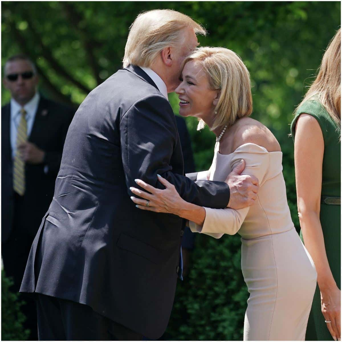 Paula White with Donald Trump