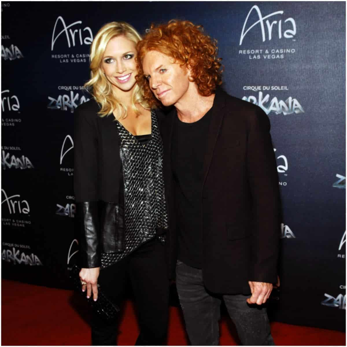 Amanda Hogan with boyfriend Carrot Top