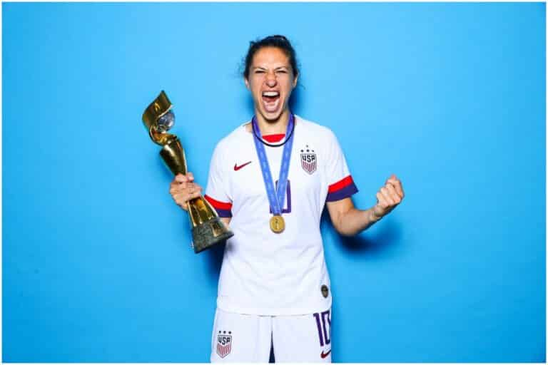 Carli Lloyd - Net Worth, Husband (Brian Hollins), Biography