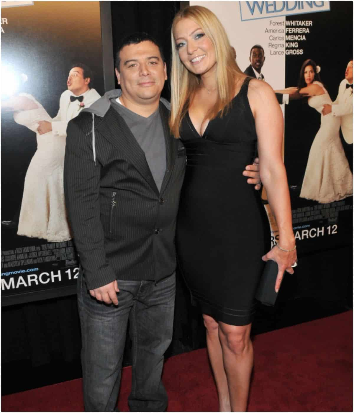 Carlos Mencia and wife Amy Mencia