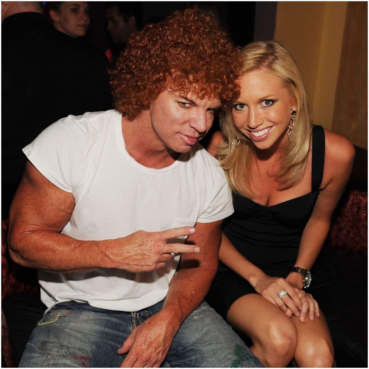 Carrot Top and girlfriend Amanda Hogan