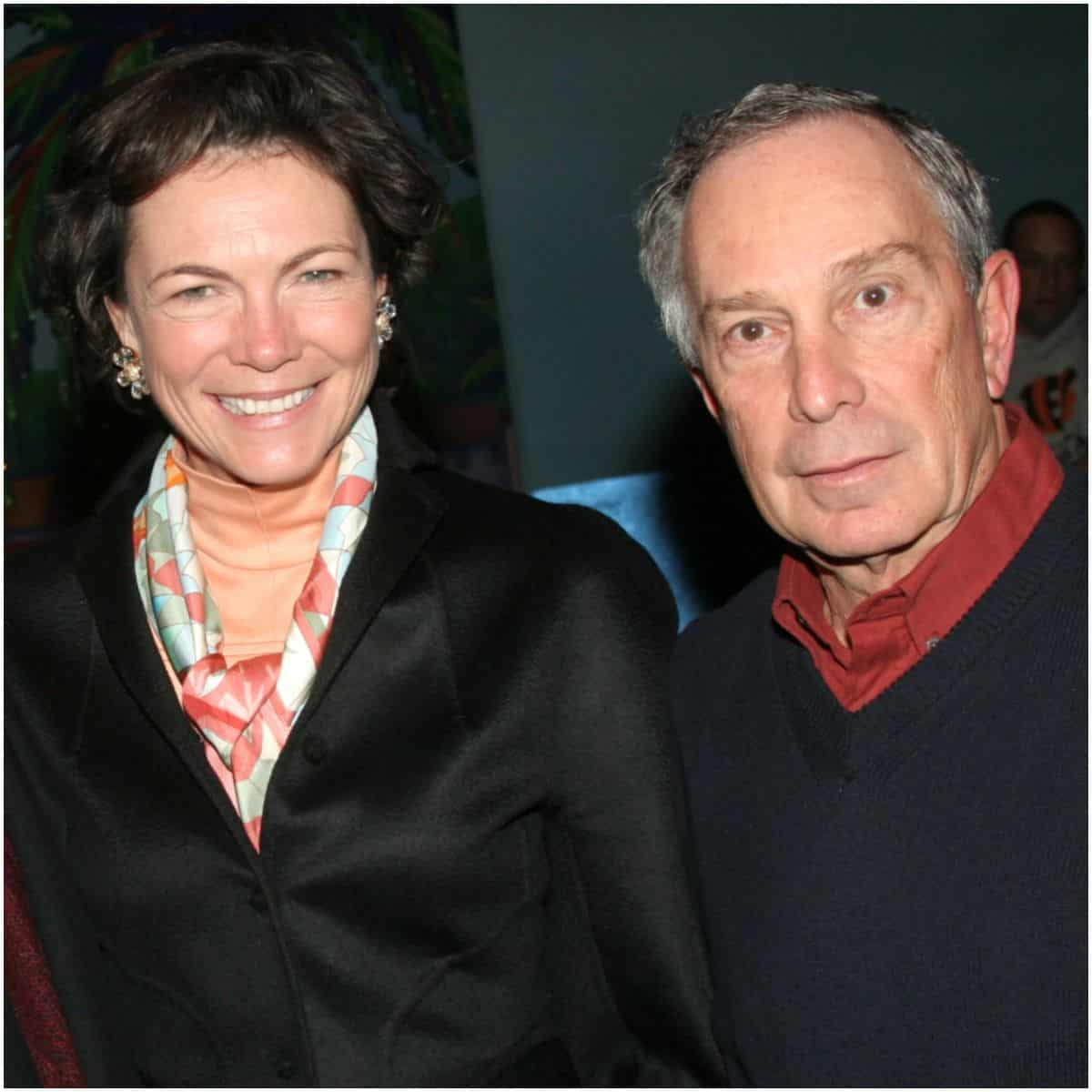 Diana Taylor and her boyfriend Mike Bloomberg