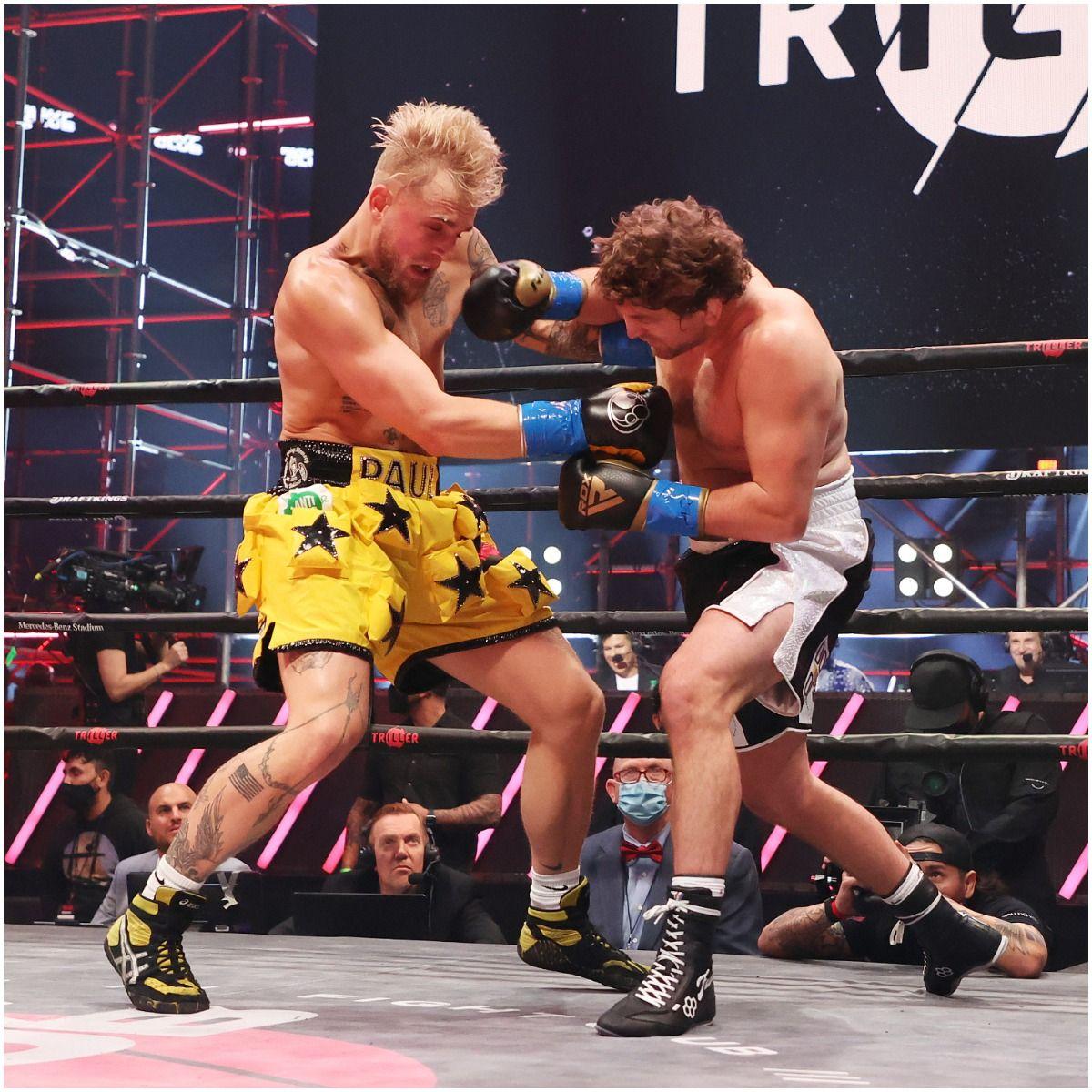 Jake Paul fights Ben Askren