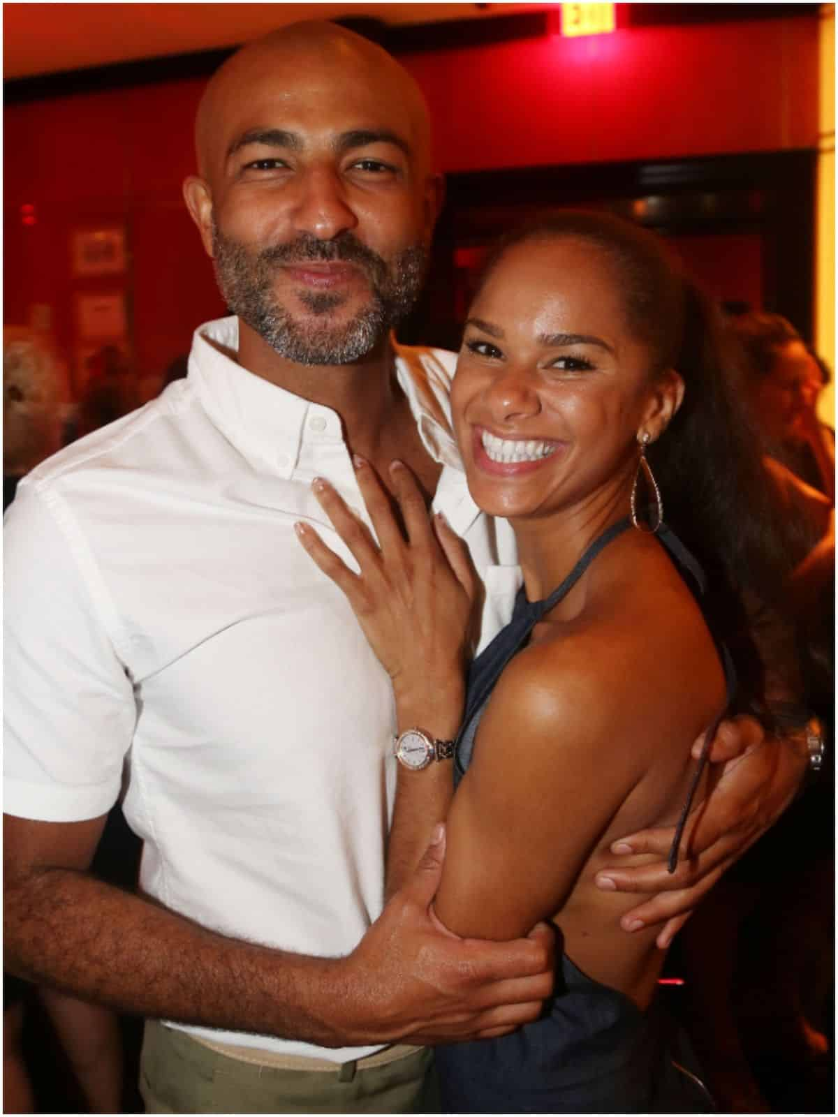 Misty Copeland and husband Olu Evans