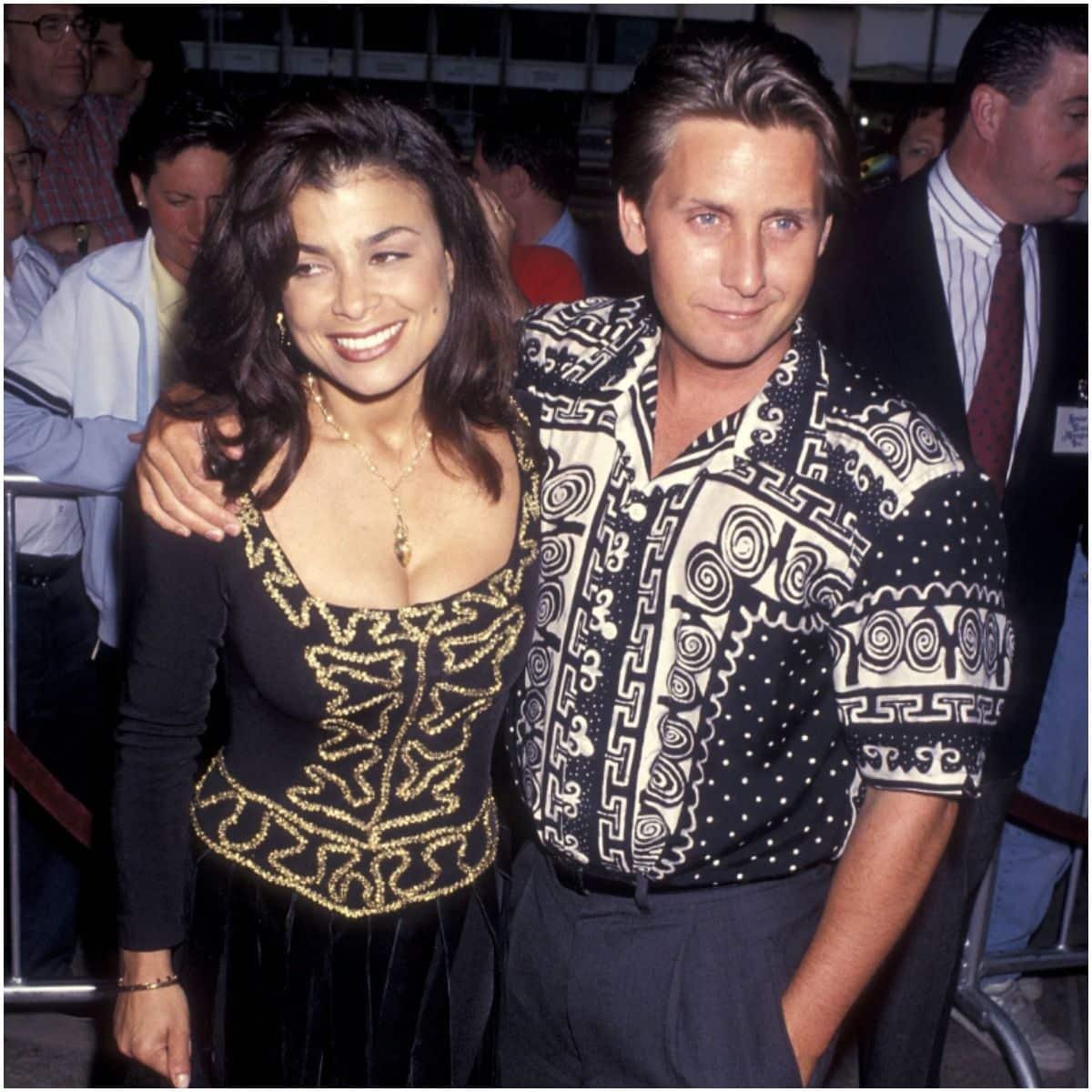 Paula Abdul and husband Emilio Estevez