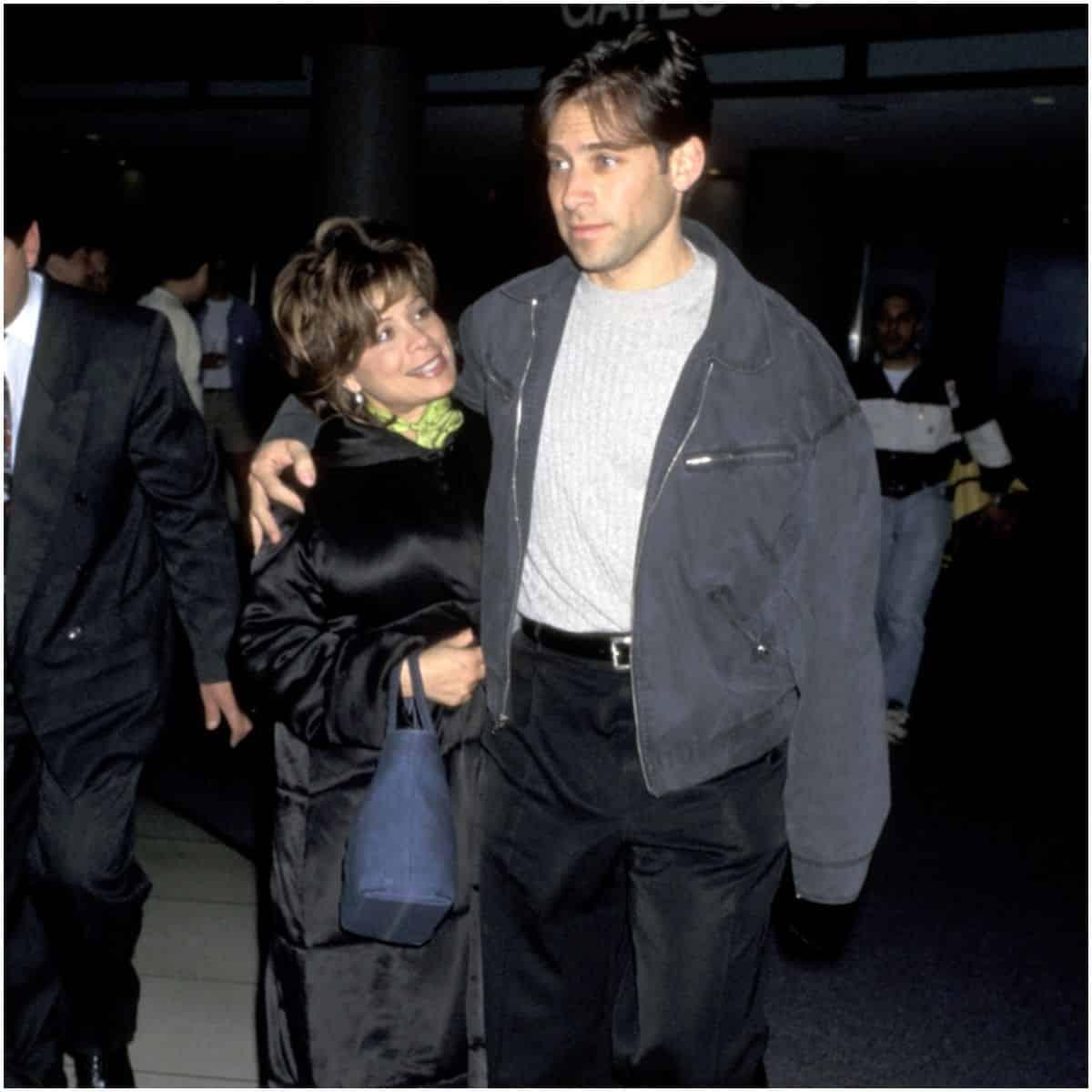 Paula Abdul with husband Brad Beckerman