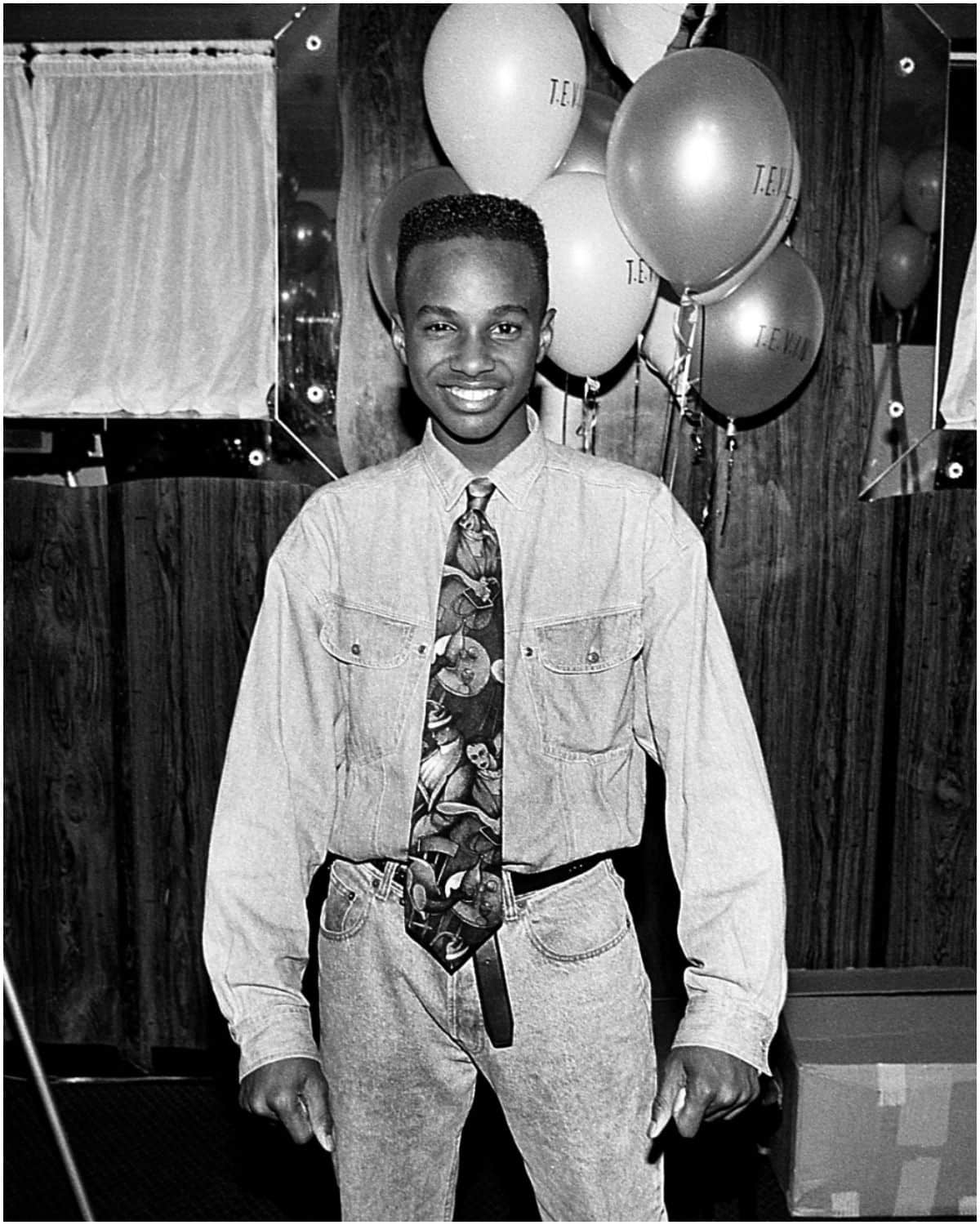 Tevin Campbell young