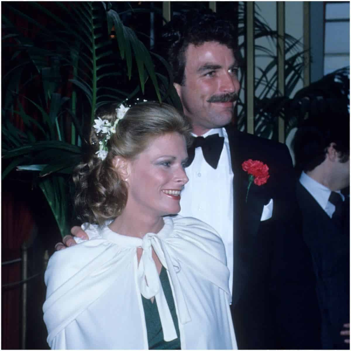 Tom Selleck and Jacqueline Ray
