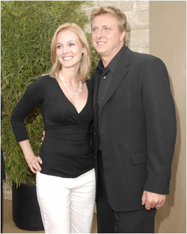 William Zabka with wife Stacie Zabka