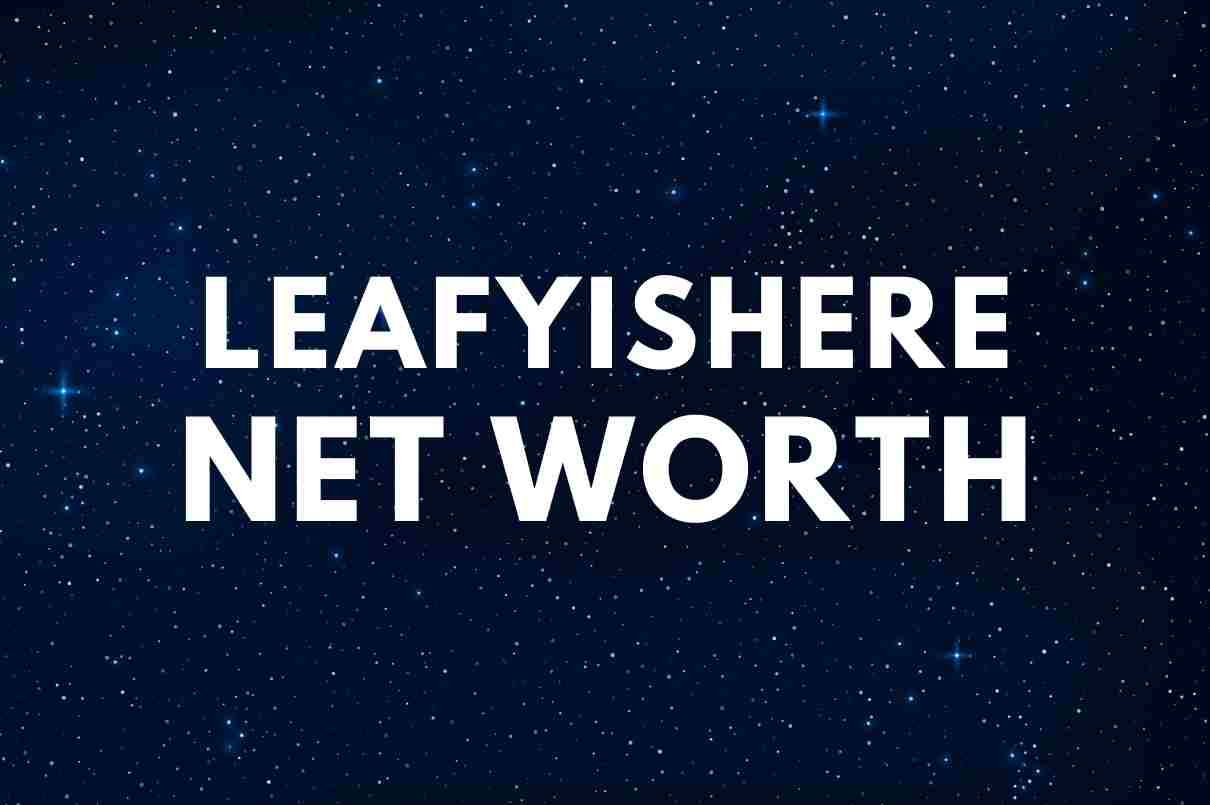 what is the net worth of LeafyIsHere