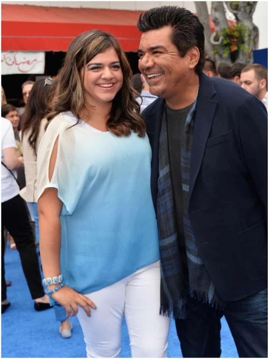 George Lopez Daughter Mayan Lopez