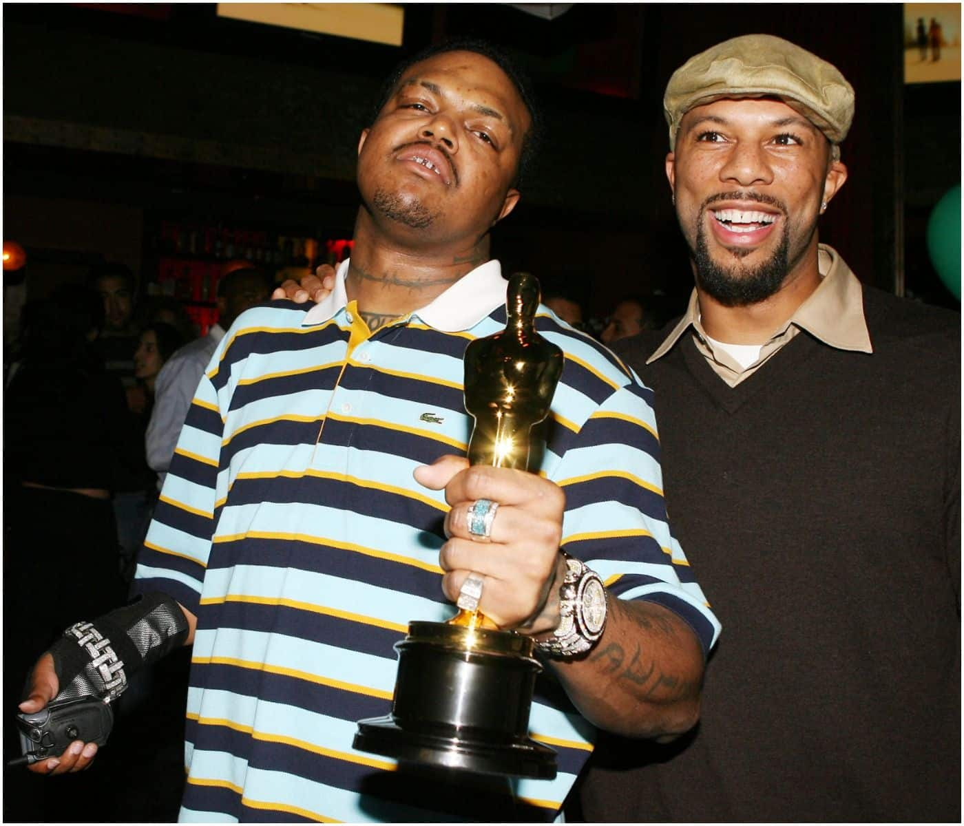 What happened to DJ Paul's arm