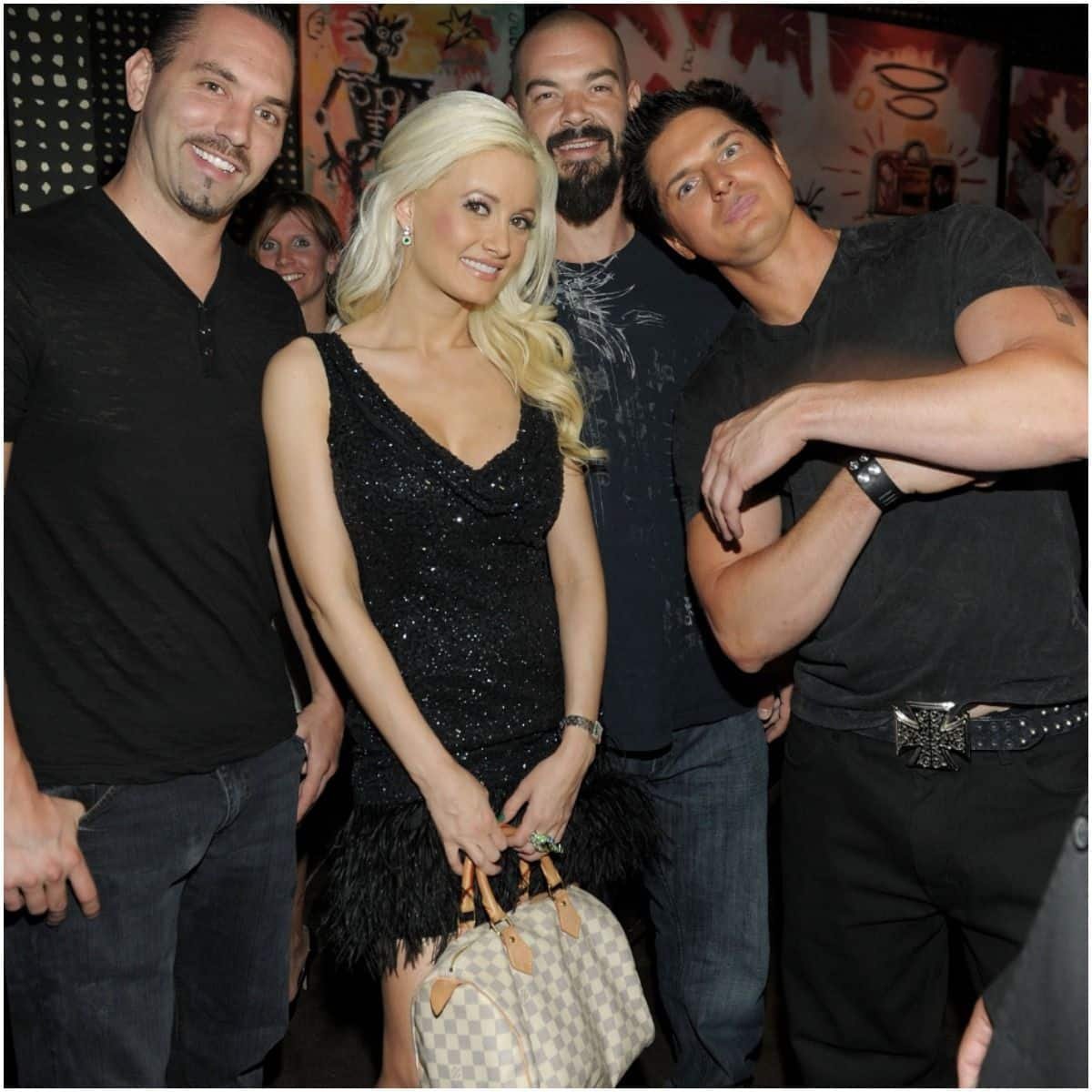 Zak Bagans and girlfriend Holly Madison