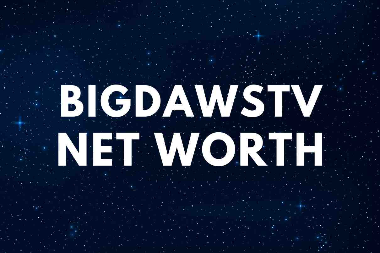 what is the net worth of BigDawsTV