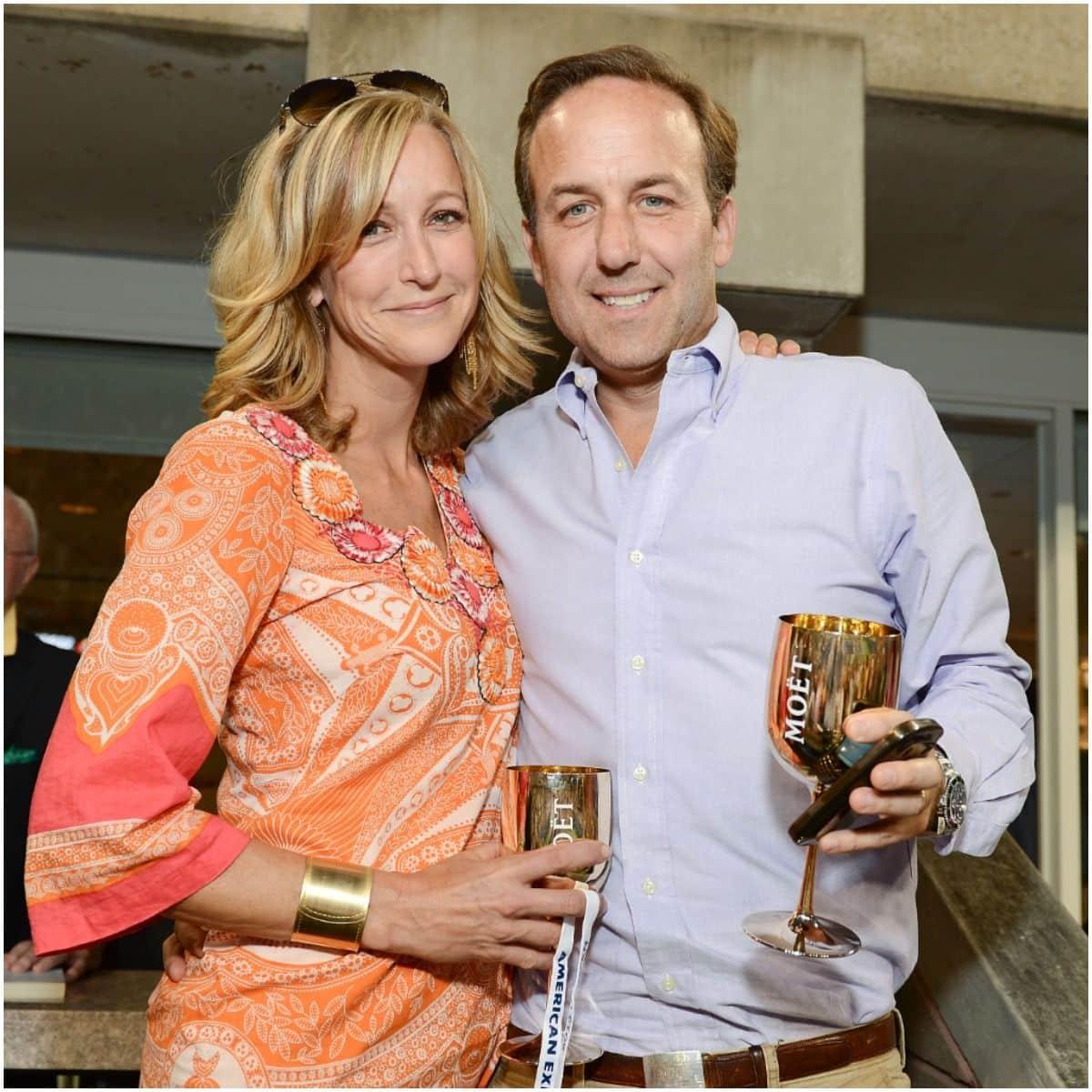 Lara Spencer and husband David Haffenreffer