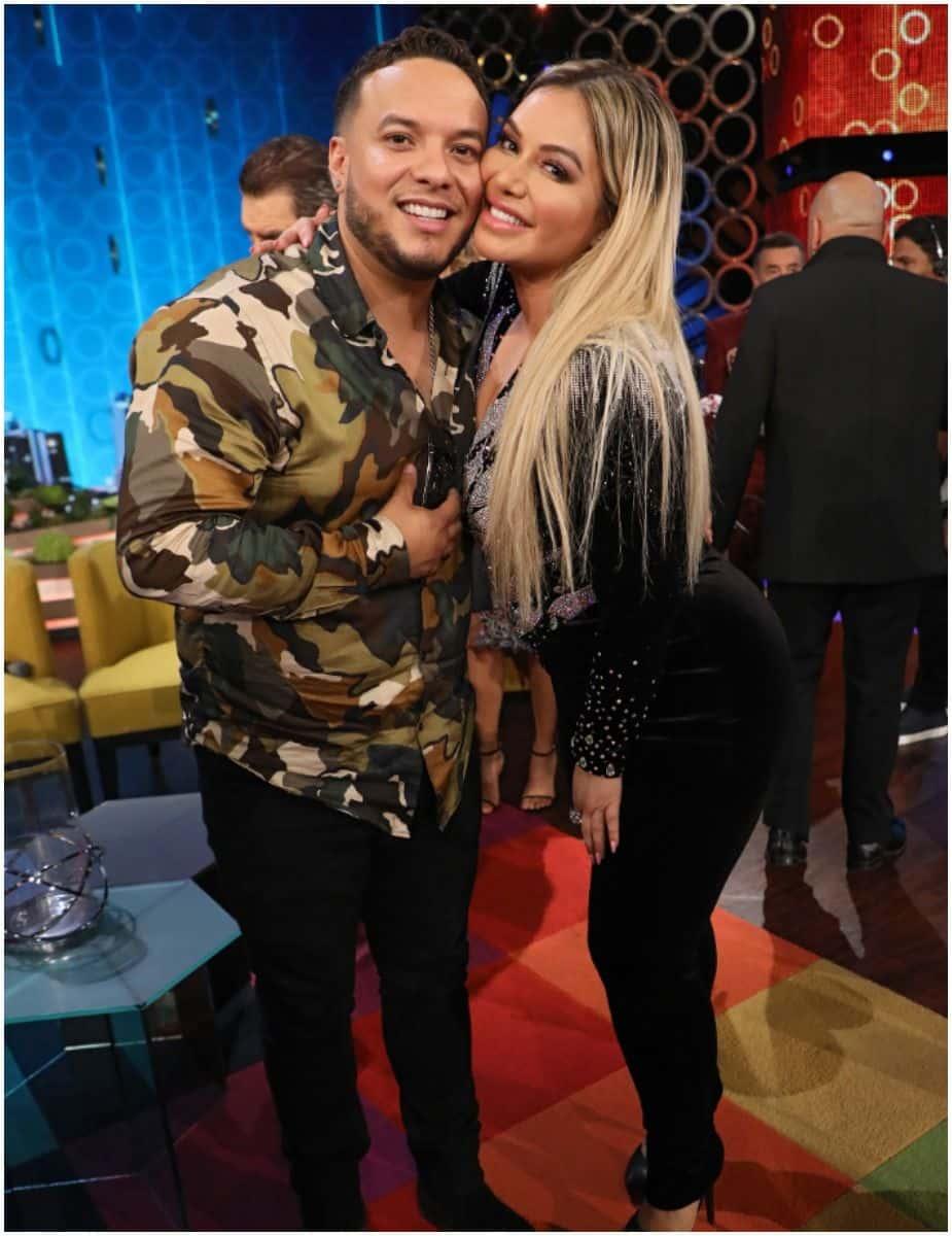 Lorenzo Méndez and wife Chiquis Rivera