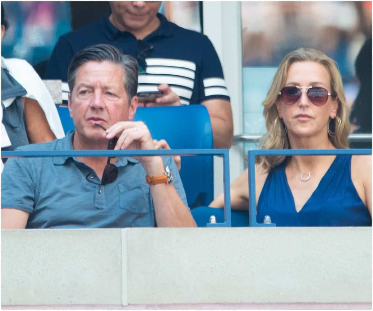 Richard McVey and wife Lara Spencer
