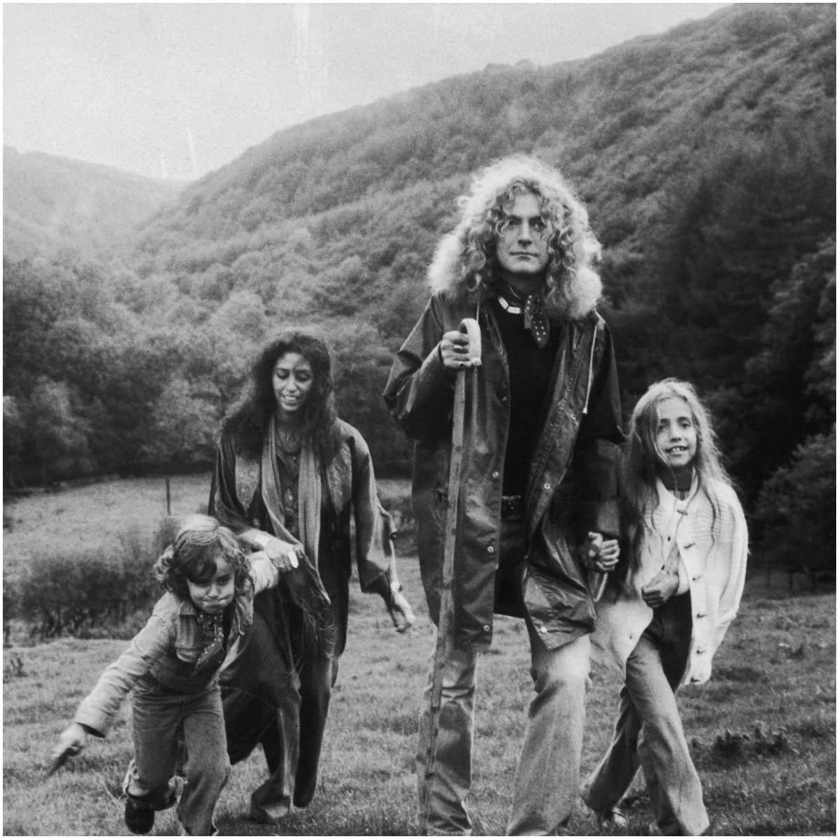 Robert Plant and wife Maureen Wilson