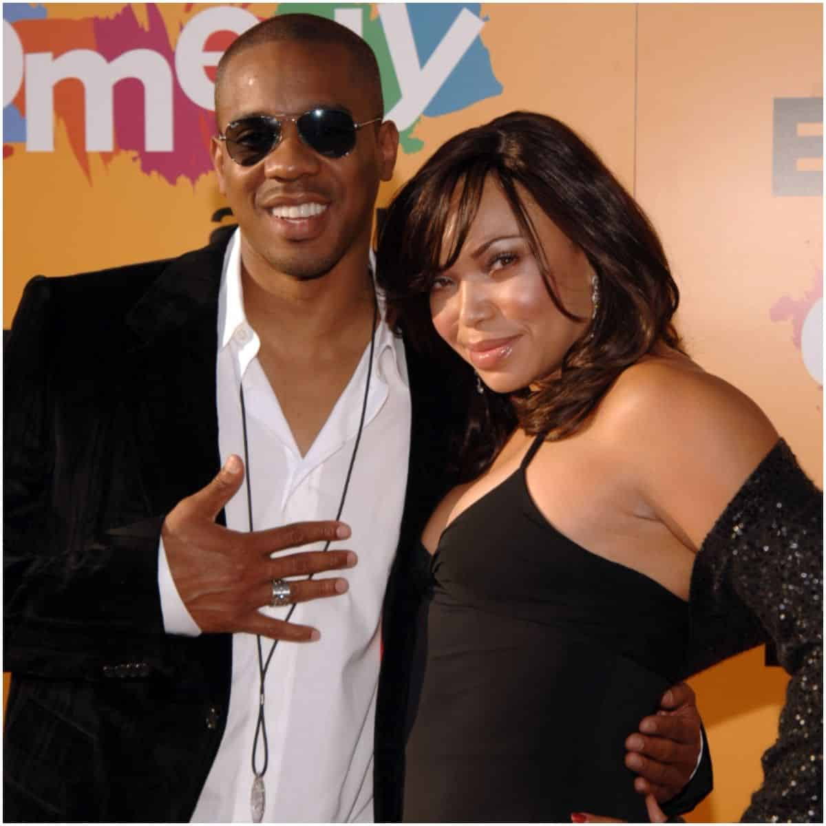 Tisha Campbell and husband Duane Martin