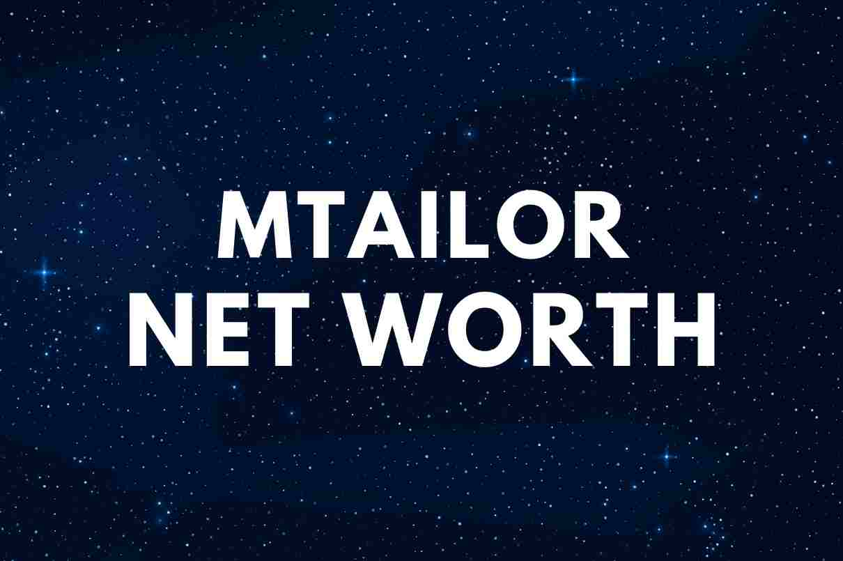 what is the net worth of MTailor