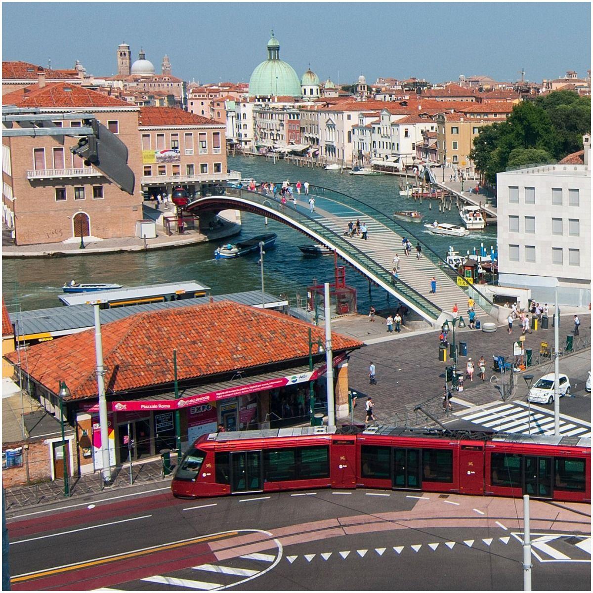 Calatrava bridge in Venice, Italy
