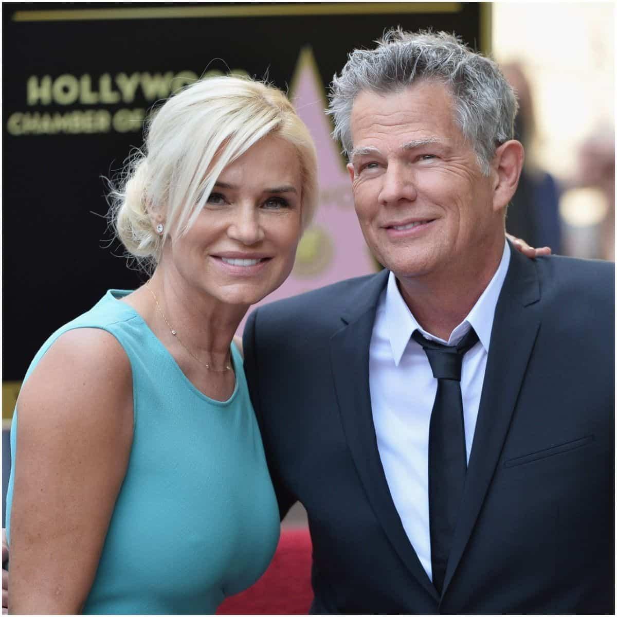 David Foster and ex-wife Yolanda Hadid