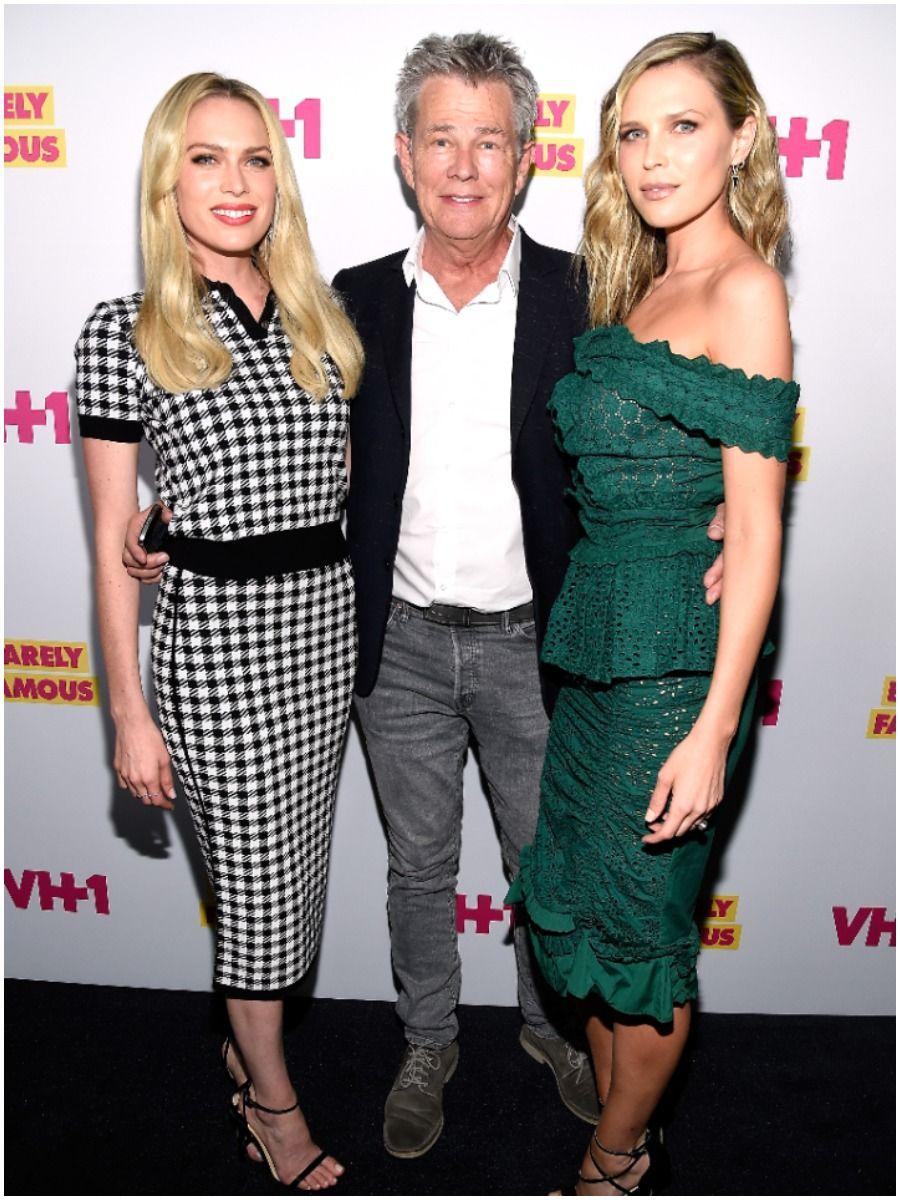 David Foster with Erin and Sara