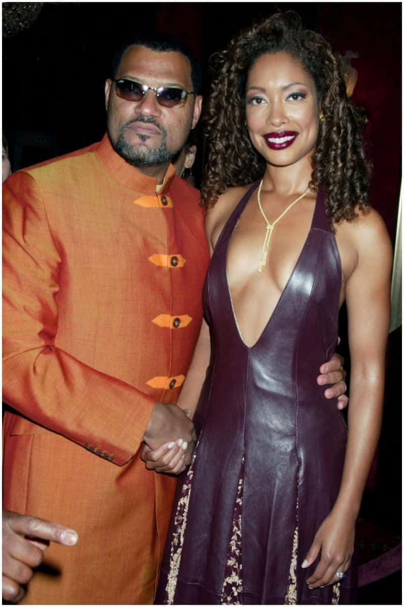 Laurence Fishburne and ex-wife Gina Torres