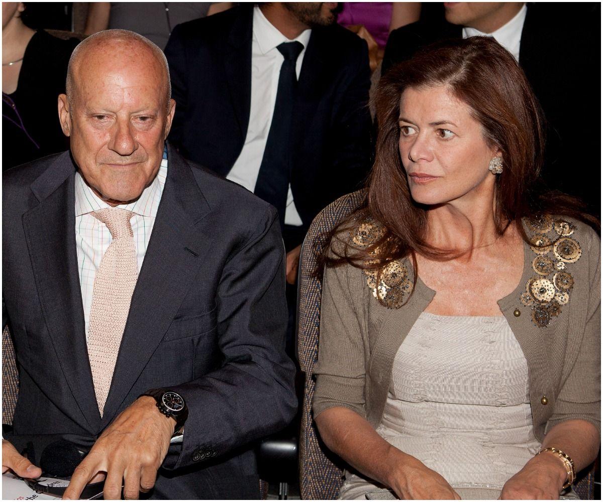 Norman Foster and wife Elena Ochoa