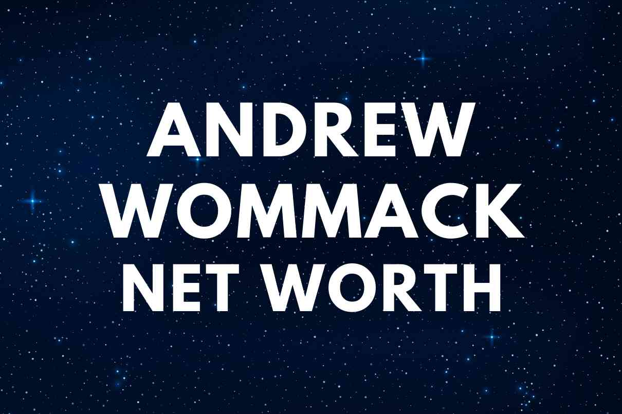 what is the net worth of Andrew Wommack