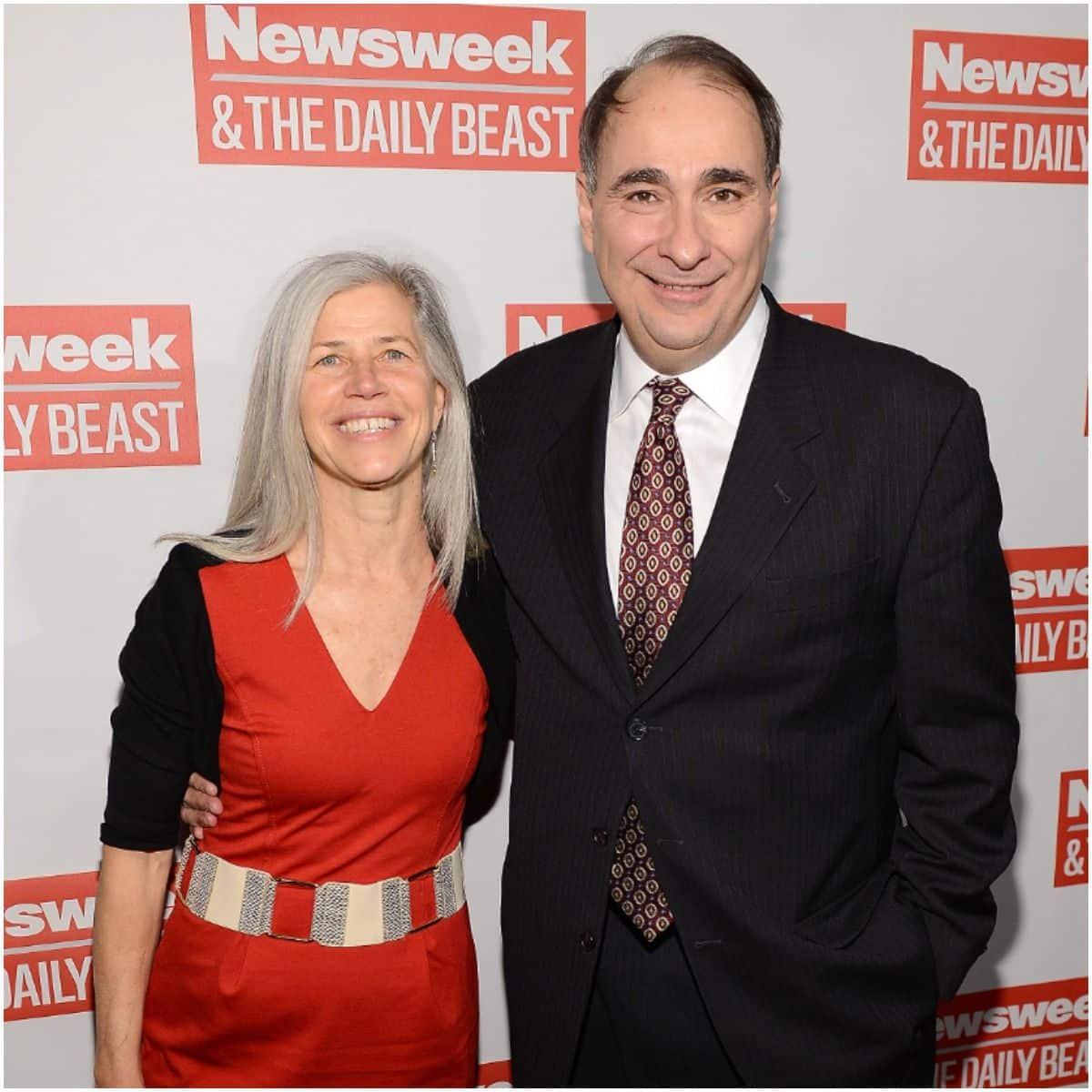 David Axelrod and wife Susan Landau