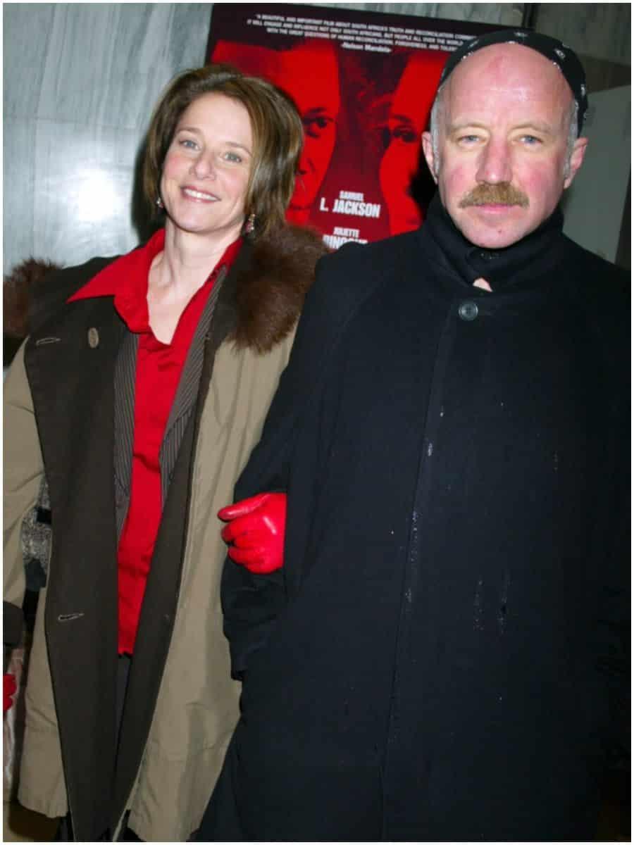 Debra Winger and husband Arliss Howard