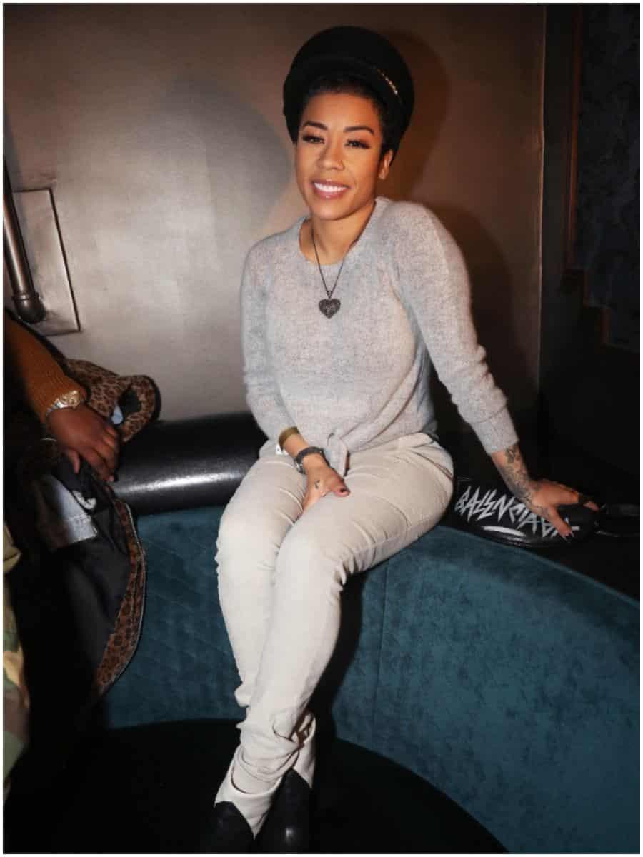 Keyshia Cole, ex-girlfriend of Niko Khale