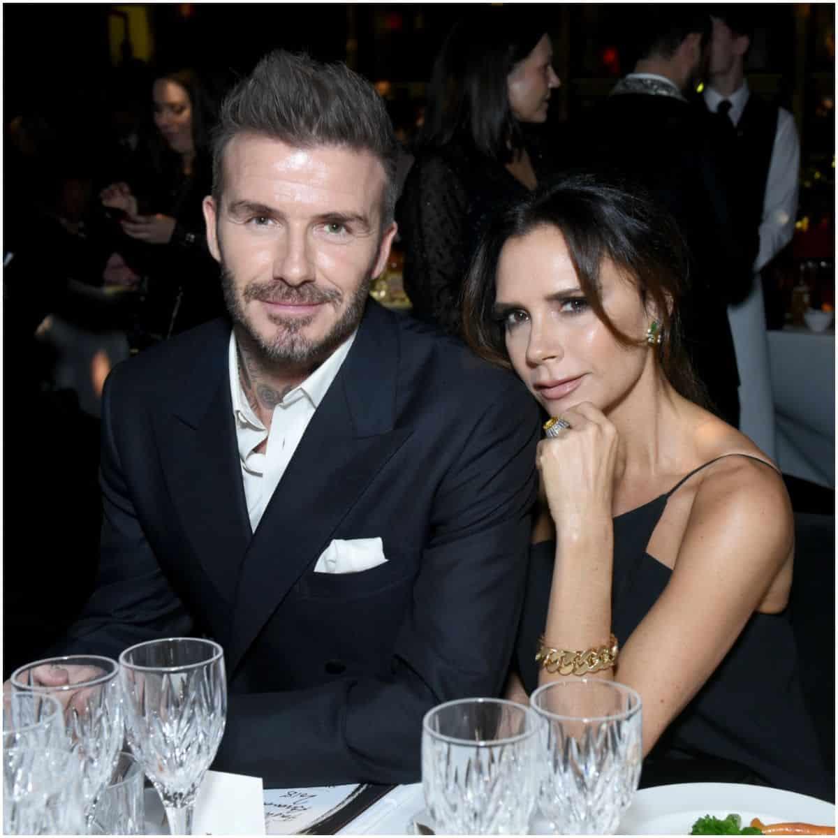 Victoria Beckham and husband David