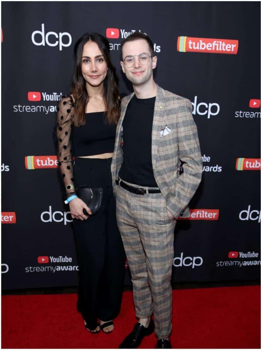 Zach Kornfeld and fiancée Maggie Bustamante